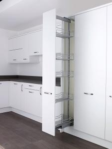 Classic 300mm full extension larder unit with soft stop for Kitchen base units 300mm depth