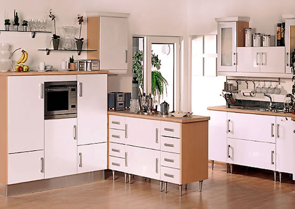 Lumi - Gloss White Kitchen Door. 20% off replacement doors for a limited  time. picture