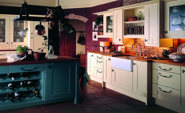 Broadoak Sanded kitchen doors - Second Nature