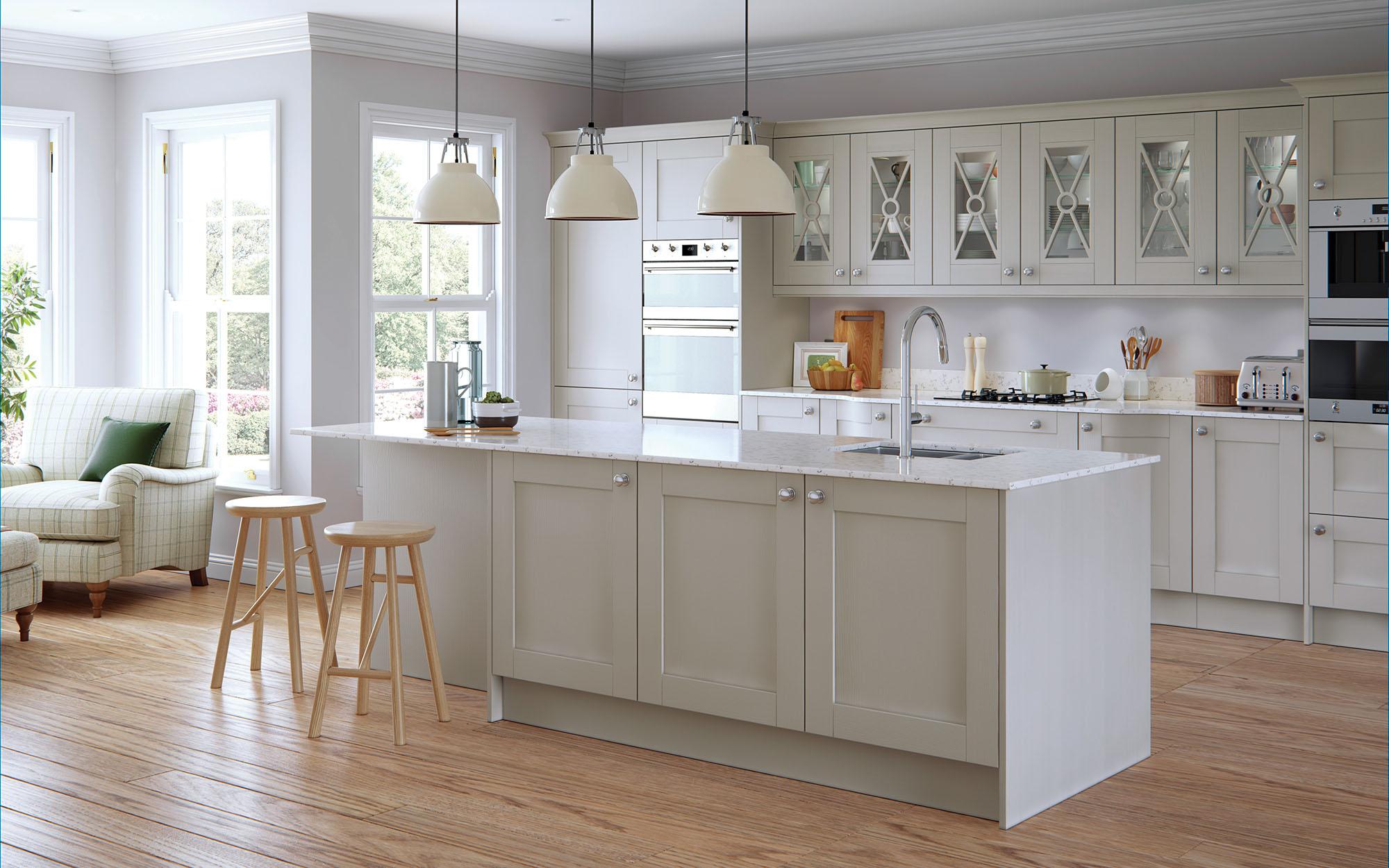 Madison Painted Light Grey - Kitchen Stori