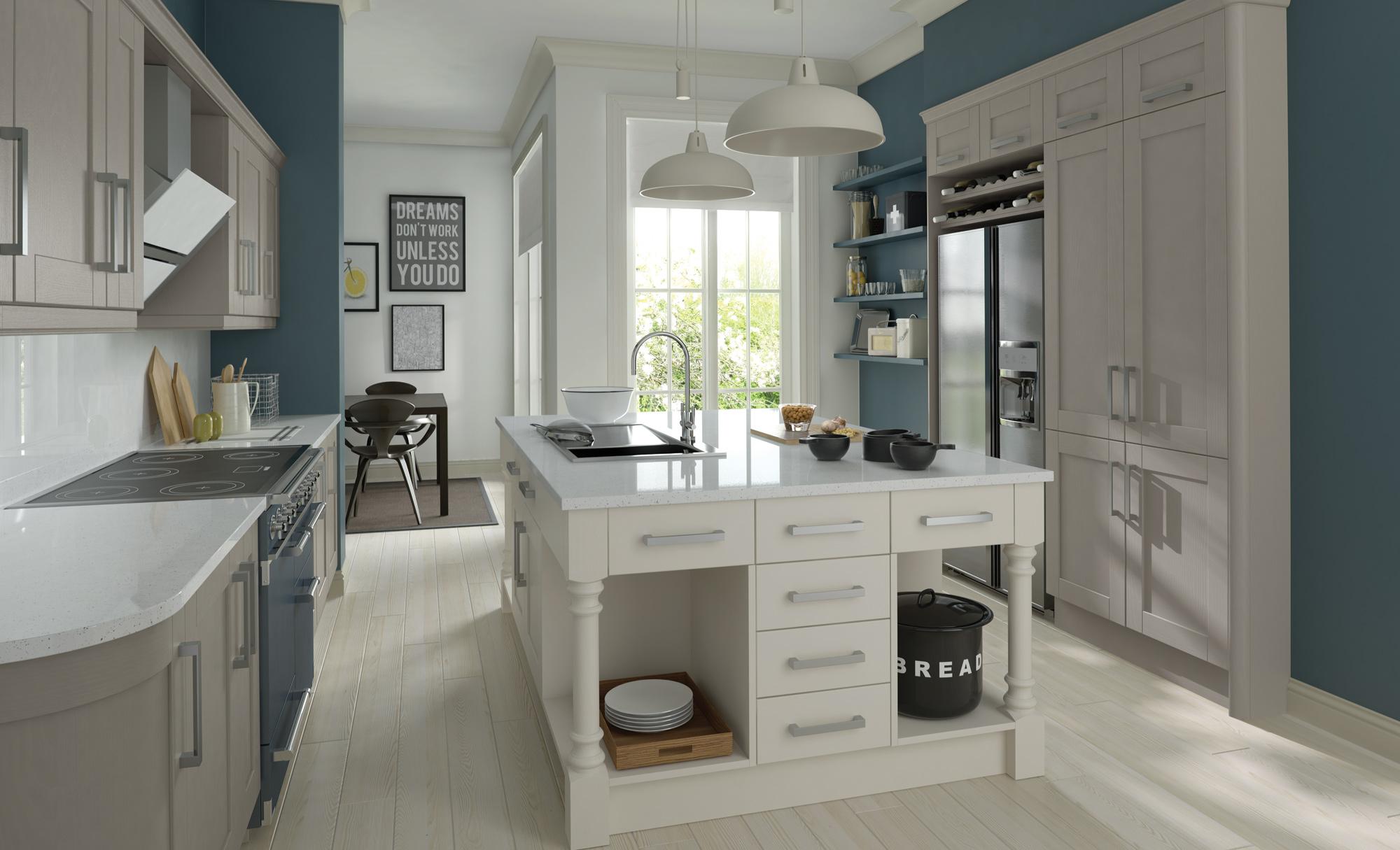 Madison Painted Stone - Kitchen Stori