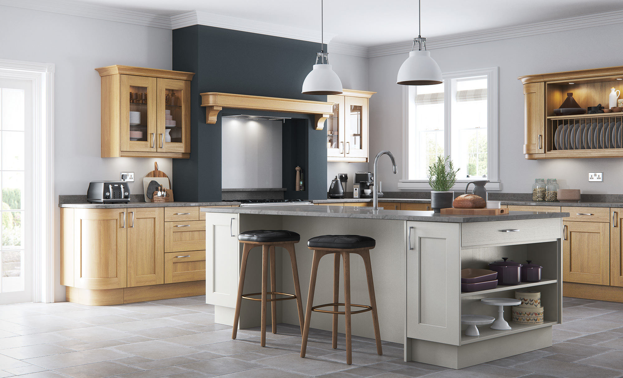 Wakefield Painted Stone - Kitchen Stori