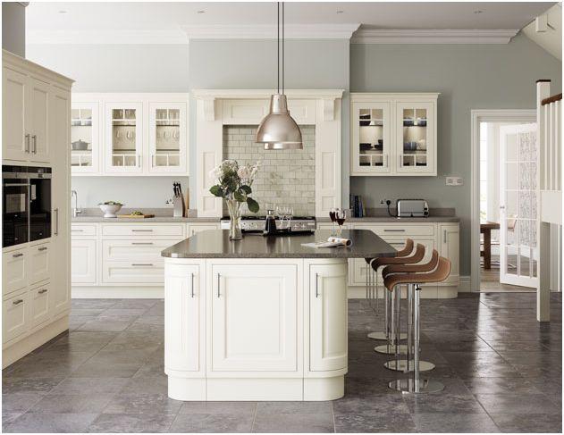 Eildon Cream Painted Ash In-framed Kitchen - Multiwood