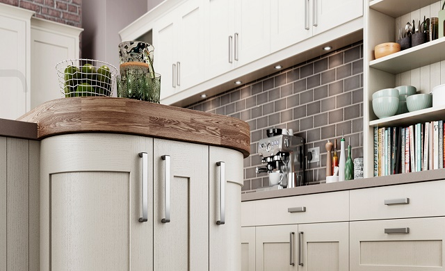 Barnes Soft Grey Burbidge - Soft grey kitchen