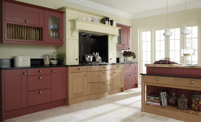 Broadoak Sanded & Second Nature Kitchens replacement doors